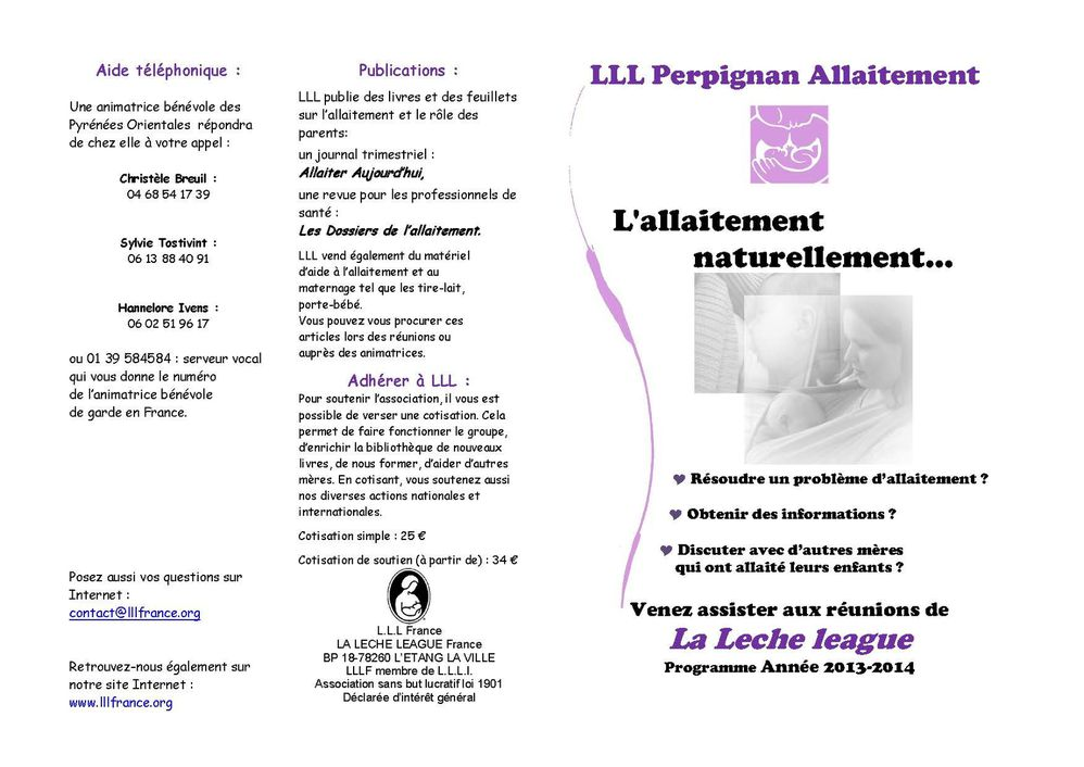 LLL Perpignan Allaitement 2014 (2) Page 1
