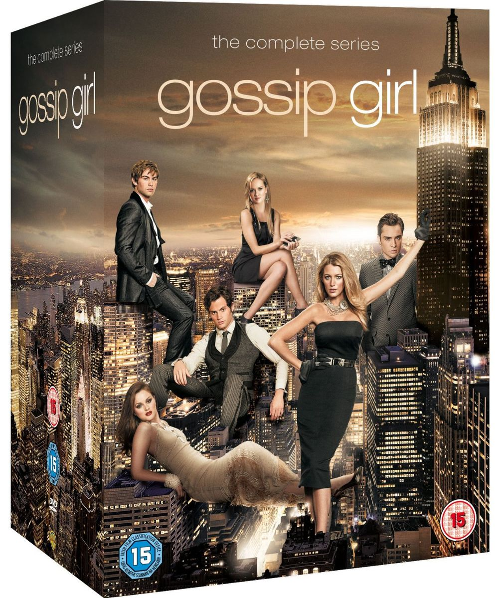 gossip girl l 39 int grale totale en dvd. Black Bedroom Furniture Sets. Home Design Ideas