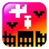 icon bomb on pixel city