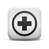 125583-matte-white-square-icon-signs-first-aid1