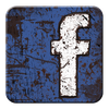 Facebook Grunge Icon by highaltitudes