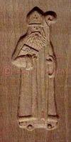 Moules à biscuits Saint Nicolas et son âne - Arts et Sculpture: sculpteur sur bois