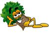 25472-clip-art-graphic-of-a-tree-character-resting-his-head