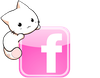 Facebook Logo Icone Rose Chaton By Sacha Chan