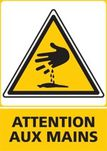 Attention aux mains