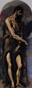 El Greco-San Juan Bautista