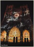Amiens Cathedrale en couleurs 3