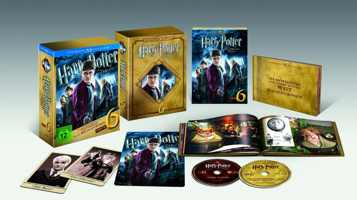 harry potter 5 et 6 en coffret dvd blu ray dition ultimate feel4ya. Black Bedroom Furniture Sets. Home Design Ideas