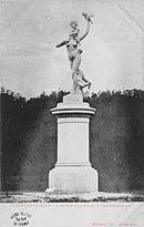 sculpture L'amour et la folie de Paul Darbefeuille dans le Parc du Château de Saint-Germain-en-Laye
