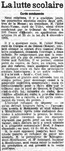 Gesnes calotte Plainte curé (1)