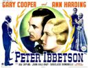 Peter Ibbetson - Affiche