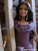 Tricot Barbie, robe - 11.07.28 - 01