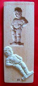 Moule à biscuit Manneken-Pis - Arts et sculpture: sculpteur designer