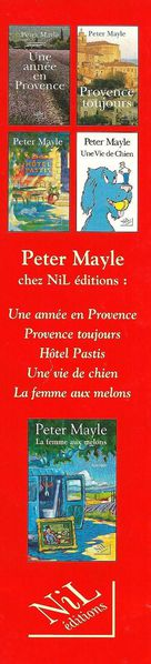mp peter mayle verso
