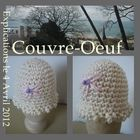couvre oeuf crochet tuto DIY
