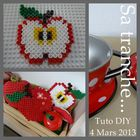 APPLE PLAY FOOD TUTO DIY HAMA