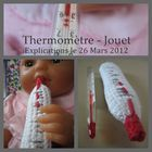 mallette docteur thermomètre crochet tuto DIY