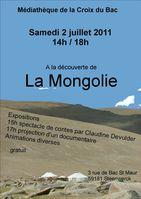 affiche mongolie 4