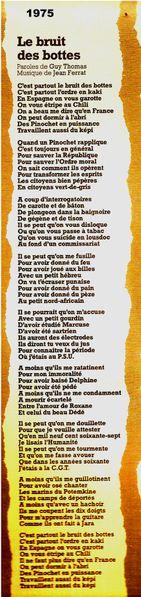 BRUIT DE BOTTES j.Ferrat