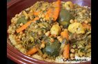 Couscous poulet, agneau et lgumes