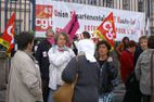 Manif contre Fillon au Puy