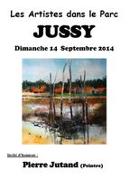Affiche Jussy 2014