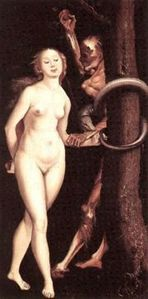 180px-Hans Baldung Grien - Eve, Serpent and Death