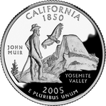 CALIFORNIE Quarter
