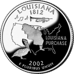 LOUISIANE Quarter
