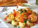 Crevettes sautées ail & persil