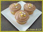 Cupcakes chantilly nutella