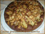 DSCN7090-border Gâteau fondant poires et amandes