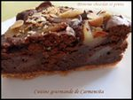 Brownie chocolat et poires000-border