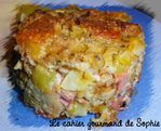 timbale courgettes mozza