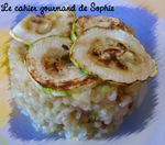 risotto courgettes damien 100911