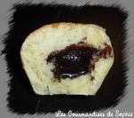 pains au lait vanillés fourrés coupe