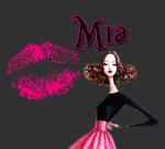 Le bisou de Mia