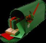 tube boite aux lettres noel