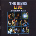 the kinks live at kelvin hall front cover