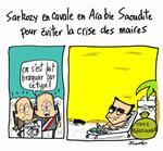 Sarkozy : la rencontre avec les maires de France , fuite ou oubli??
