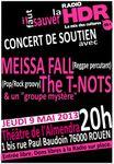 Concert de soutien à @RadioHDR le 9 Mai 2013 à Rouen