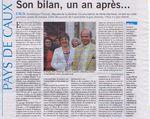Dominique Chauvel, son Bilan un an après son élection #circo7610