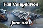 Fail compilation - les meilleures chutes du mois de juin