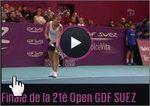 Tennis féminin WTA 2013: Rediffusion de la finale Sara Errani - Mona Barthel en streaming
