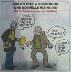 Jeudi noir pour Franck Martin dans la DEPECHE de Louviers (1)