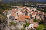Corte, ancienne capital de la Corse indépendante du XVIIIe siècle