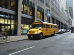 Le bus scolaire jaune de New-York