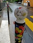 Street-art collectif, les stickers du musée Rodin