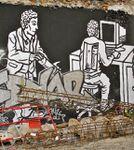 Zoo Project, l'exploitation de l'homme par l'homme, street-art