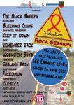 Rock session, action sidaction aux Essarts le Roi le 26 mars 2011